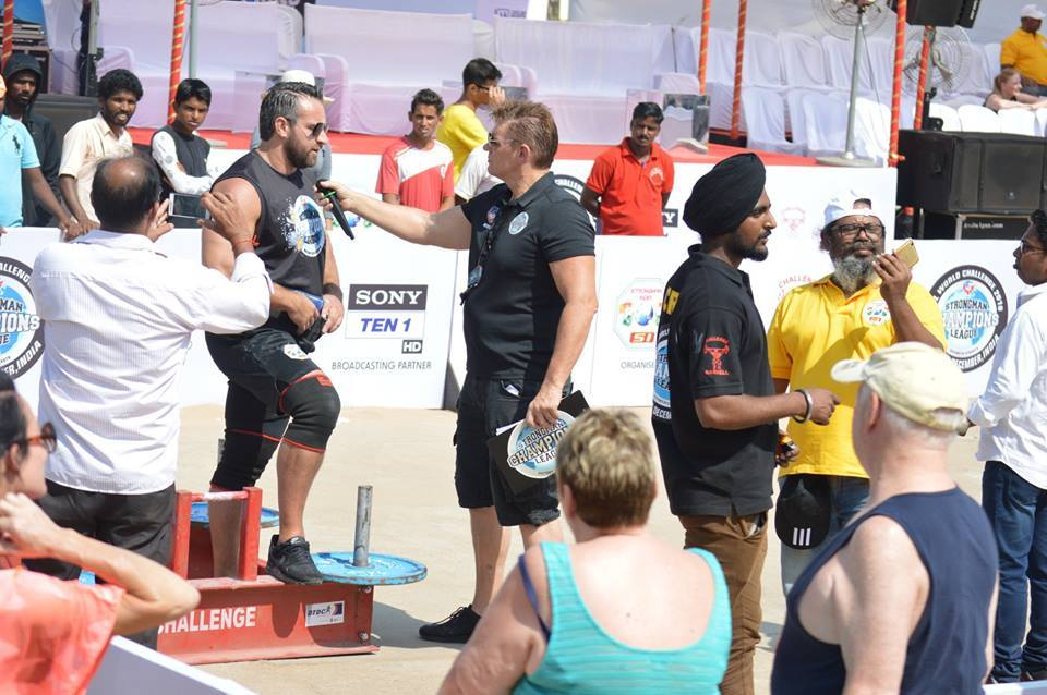SCL World Challenge, Goa, India, 1st & 2nd December 2018 – Strongman